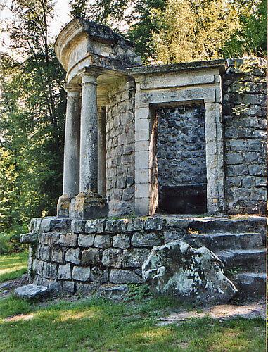 Ermenonville, Parc Jean-Jacques Rousseau