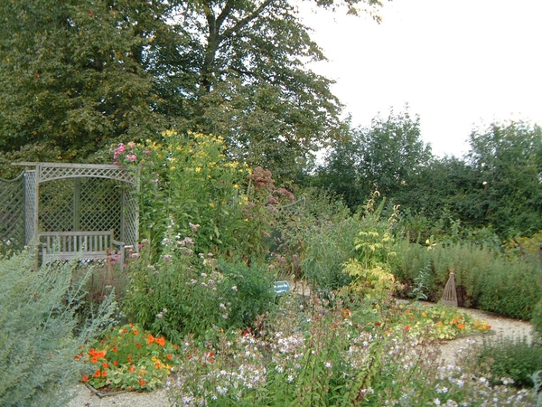 Herb Garden, Sulgrave Manor, September 2007