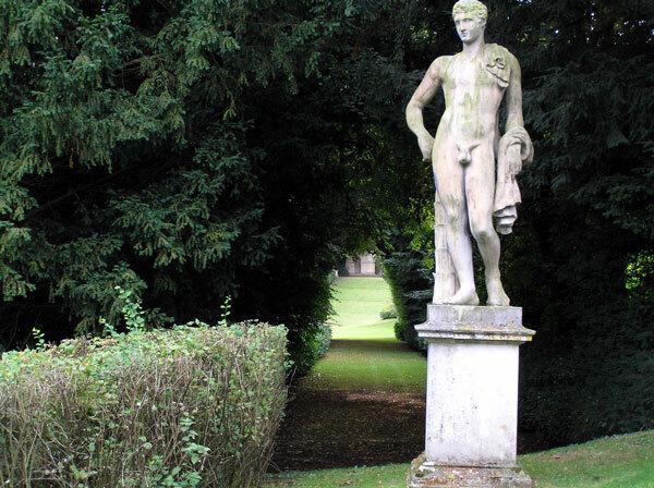 Statue at Rousham House Garden