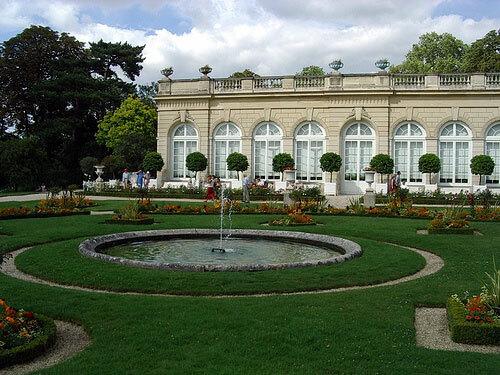 Orangerie, Jardin de Bagatelle