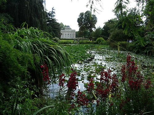 Lake, Jardin de Bagatelle