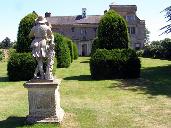 Statue at Canons Ashby Gardens