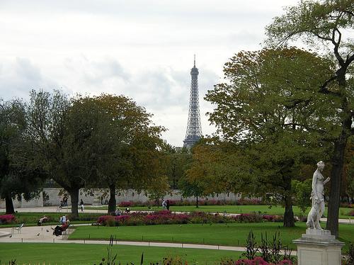 Jardin des tuileries for Le jardin paris