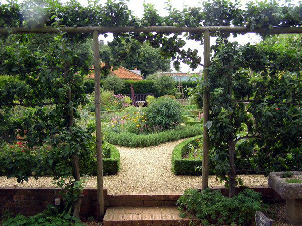 Herb Garden, Coton Manor