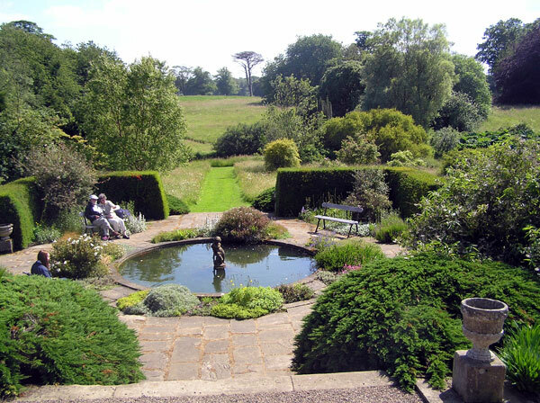 Pool, Howick Hall Garden