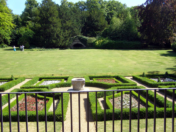 South Lawns, Clandon Park Garden