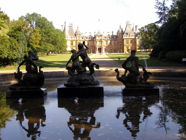 Front view, Waddesdon Manor