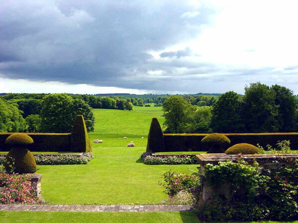 View from Hinton Ampner House