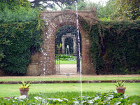 Medium athelhampton gardens fountains original