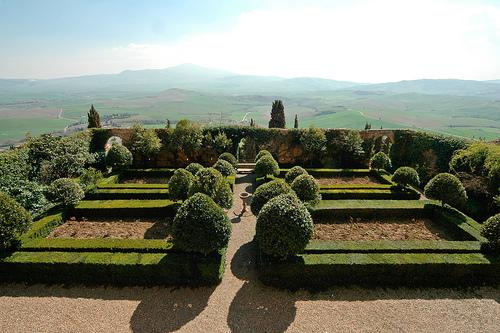 Palazzo Piccolomini Garden