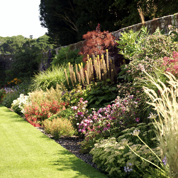 The Walled Garden at Glenarm, Northern Ireland