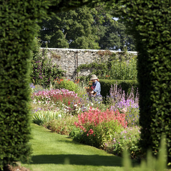 The Walled Garden at Glenarm Castle, County Antrim