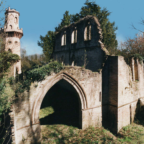 Ruins at Villa Sorra