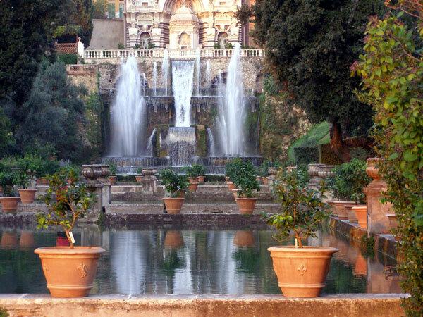 Villa d'Este Garden, Tivoli