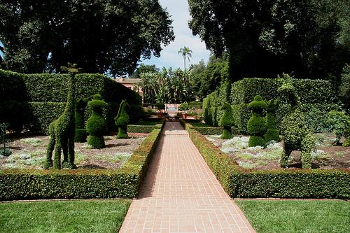 Topiary Garden, Ganna Walska Lotusland Garden