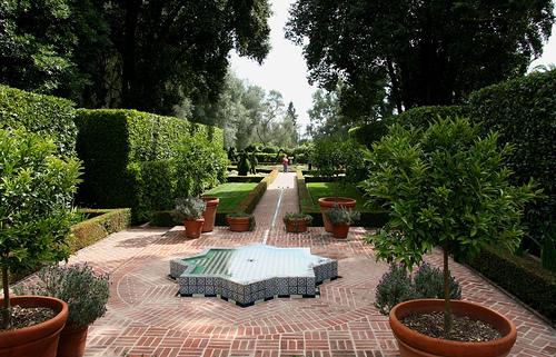 Star Fountain, Ganna Walska Lotusland Garden