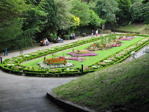 Italian Gardens in Saltburn
