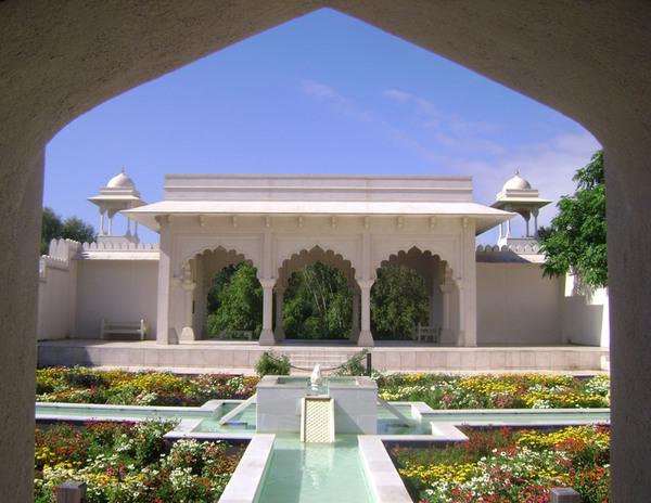 Indian Char Bagh Garden, Hamilton Gardens