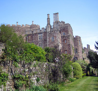 Medium berkeley castle garden original