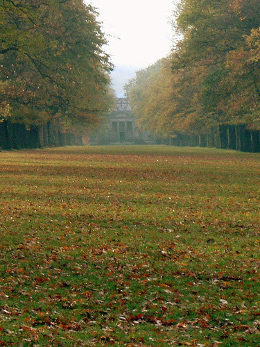 View towards the chapel, Gibside