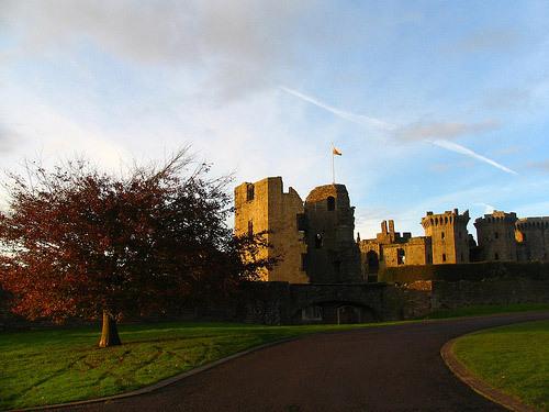 Raglan Castle, Gwent