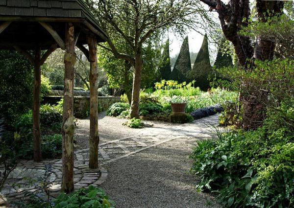 Canal Garden, York Gate Garden