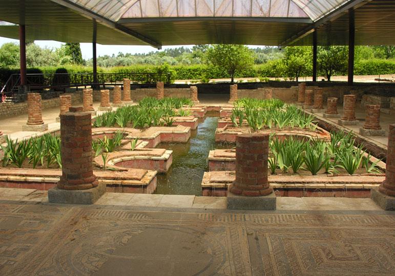 conimbriga roman garden