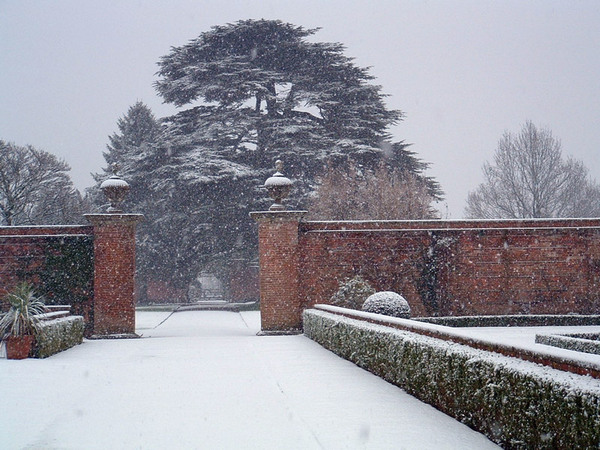 Tredegar House and Park in the Snow