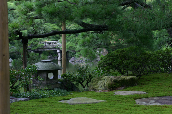 Kyoto Gosho Imperial Palace Garden, Japan