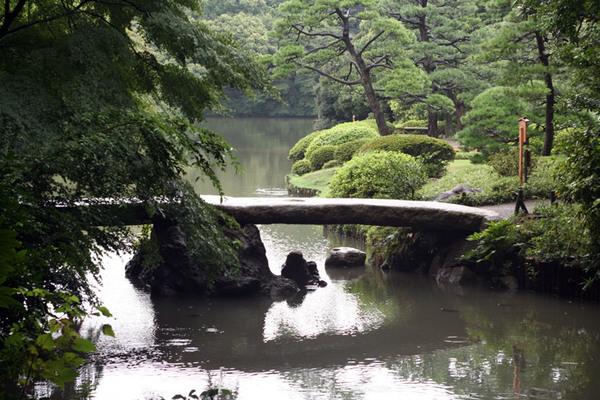 Rikugien Stroll Garden, Tokyo
