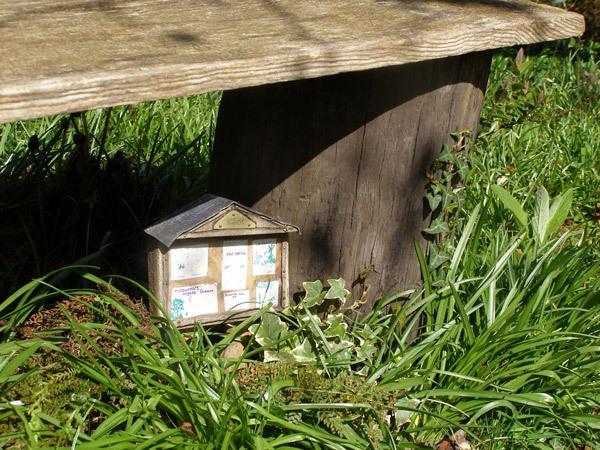 Noticeboard, Furzey Gardens