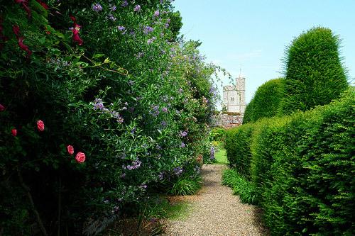 Goodnestone Park Gardens, Summer