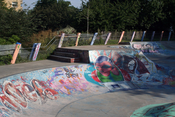 Skateboard Pit, Meanwhile Gardens