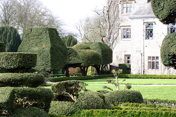 Levens Hall Garden, England