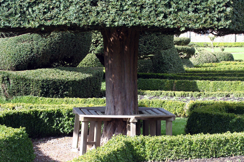 Bench, Levens Hall