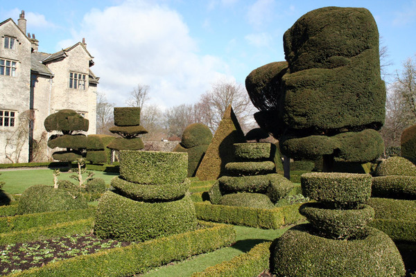Topiary at Levens Hall