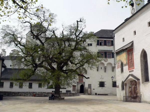 Courtyard at Salzburg Castle