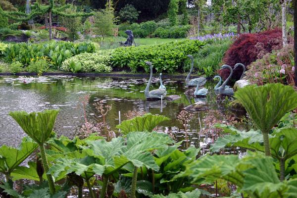 Botanische Vijvertuin van Ada Hofman, Holland
