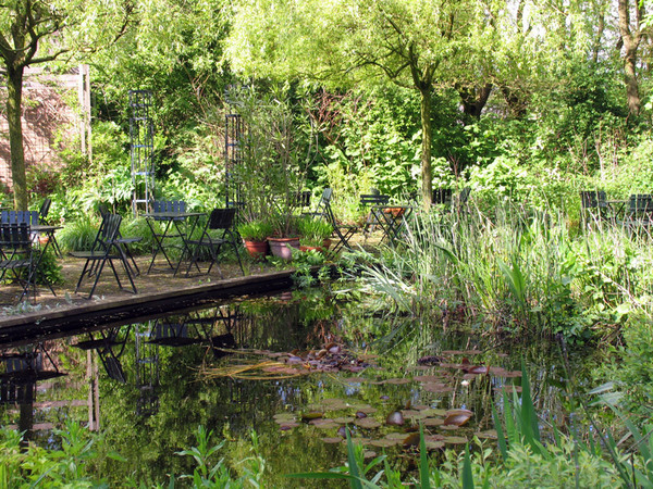 Pond, Priona Tuinen