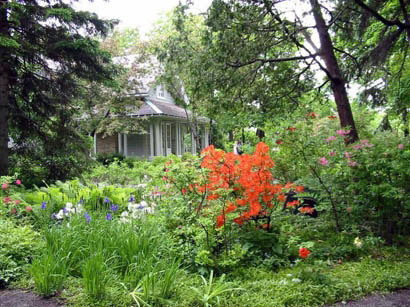 Villa Bagatelle Garden, Canada