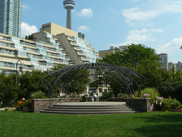 Stage at The Toronoto Music Garden