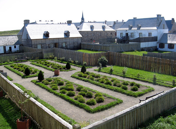Louisbourg Fortress Gardens, Canada
