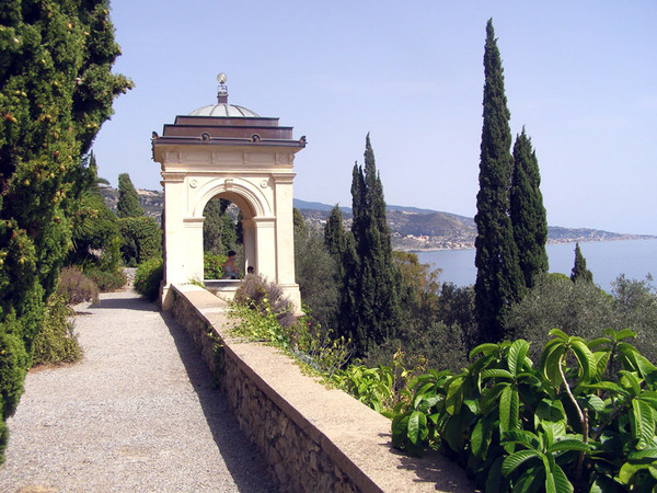 The View East, La Mortola - Giardini Botanici Hanbury