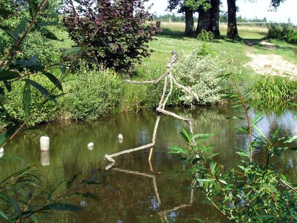 Sculpture, Le Domaine du Lac