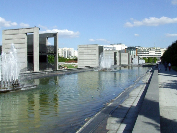 Fountains, Parc André-Citroën Paris