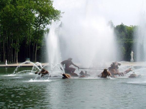 Fountain, Chateau de Versailles