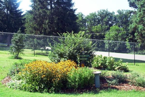Butterfly Garden, Renziehausen Park Rose Garden