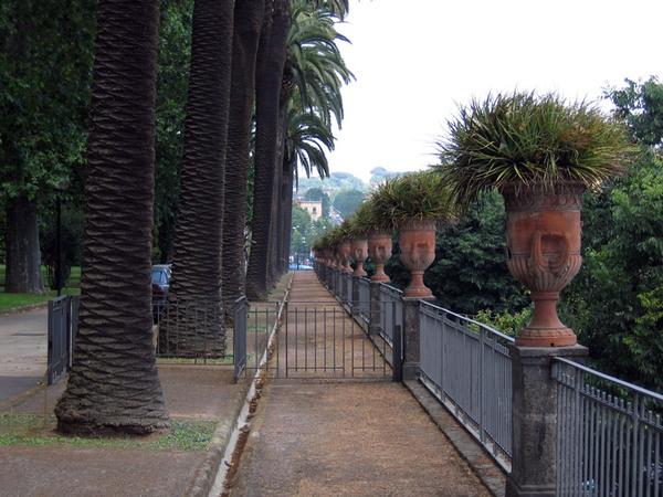 Orto Botanico di Napoli, Campania