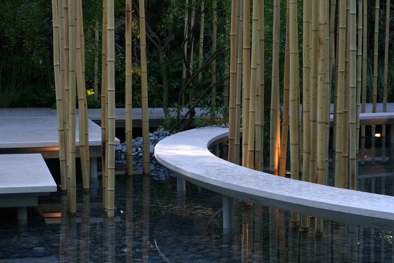 Garden in the Silver Moonlight, designed by Haruko Seki and Makato Saito
