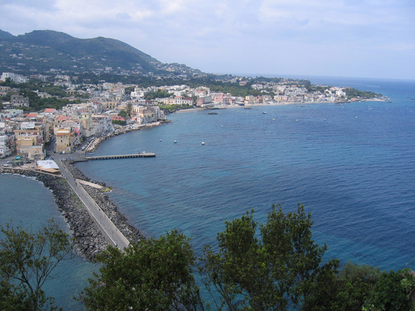 View across to Ischia Ponte